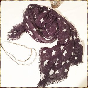 Accessories - Stars and Glitter Scarf